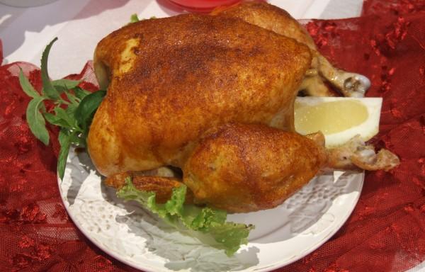 Пиле на грил